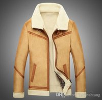 Wholesale free shipping Warm Men' s Air Force One Jacket...