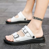 Summer Sandals Men Beach Slippers Fashion Jelly Shoes Men Sa...