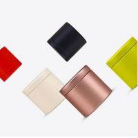 200 unids 47x45mm Mini Pequeño Té Caddy Metal Estaño Cajas de Almacenamiento Caja de Dulces Organizador Caja Envío Gratis