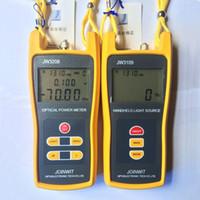 JW3109 Optische Handheld-Lichtquelle 1310 / 1550nm mit FC / SC / ST / LC-Anschluss und JW3208 Optical Power Meter