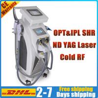 2020 ipl elight Maschine Nd yag Laser-Tattoo-Entfernung rf Haut Lift-Salon-Ausrüstung opt Haarentfernung Hautverjüngung q Schalter Laser