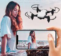 Von DHL New LF606 WIFI FPV RC DRONE Quadcopter mit 0,3MP-Kamera ABS-Kunststoff 11 * 11 * 3,5 cm 360 Grad rotierender Drohne