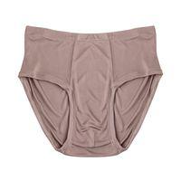 الرجال سراويل الحرير 100٪ الطبيعية حك رجل بيكيني ملابس داخلية منتصف الخصر سراويل الحجم الولايات المتحدة M L XL
