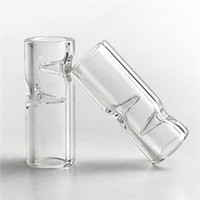 Nuovo 2 mm di spessore XL vetro antiriflesso punte con 30mm * 7 millimetri di grande formato Pyrex punta di vetro per Holder tabacco greggio carta di rotolamento fumo di sigaretta