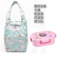 Kitty lunch box bag portable thermal insulation bag outdoor ...