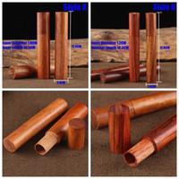 Stash Doğal Ahşap Kasa tutucu Depolama Sigara Herb Hap Tütün Aracı Sigara İçin Taşınabilir Kutu El yapımı Öncesi Rulo Tüp Jar Şişe