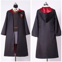 Hermine Granger Gryffindor Uniform Hermine Granger Cosplay Kostüm Kind Mädchen Uniform Volles Kleid Zauberstab Halloween Party Tägli ...