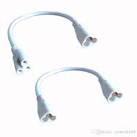 T5 T8 LED Lamba bağlayan tel 20cm Erkek-Erkek Erkek-Dişi LED LED Tüp Lamba Tutucu Soket Parçaları için tüp kablo bağlanabilir kablolarını entegre
