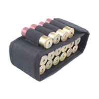 Tactical Molle 16 Круглый 12GA 12 калибр Ammo Shells Roodgun Reload Magazine Magazine Airsoft Mag Pouch Hunting Ammo Bag