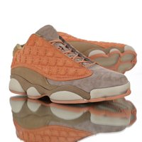 Jumpmans 13 Baskets De Course À Pied Chaussures De SportTerracotta Warriors Orange Pour Femmes Hommes Designer Sneakers Suture Armor