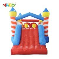 Quintal Inflável Obstáculo Curso Casa Jumpers Castelo Bouncy com Slide