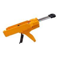 يومين عنصر 400ML 1: 1 سعة اليدوي AB الغراء بندقية السد وكيل مفاصل صحيح الخزف AB ضغط دفع البلاستيك جهاز الغراء