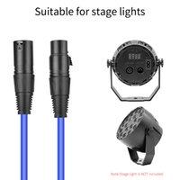 cabo de sinal Professional XLR fio masculino para feminino Stage Luz cabo de áudio cabo do microfone cabo DMX512