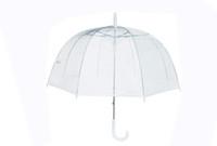 34-дюймовый Big Clear Cute Bubble Deep Dome Зонт Сплетница Ветер сопротивления 0226