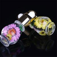 Nagelhautöl Nagelhautöl Professionelle Nagelnahrungsöl Getrocknete Blumen Maniküre Werkzeuge Transparente Blume Aroma Maniküre G131