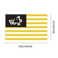 3x5 150x90cm Manny neue amerikanische Flagge, individuell gestaltete Digital gedruckte Polyester amerikanischen Stoff State Flags, freies Verschiffen