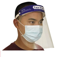 Stock Protective Mask PET Clear Transparent Anti- fog Dust Ma...