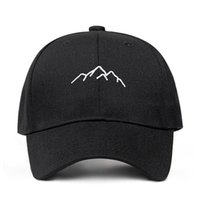 2018 new Mountain range embroidery Mens Womens Baseball Caps...