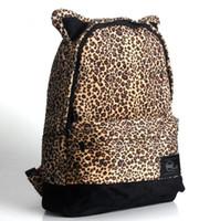 6f06ab944afc Cute Cartoon Cat Ears Backpack Girl Schoolbag for Teenage Women Back Pack  Plush School Backpack Famale Teen Bagpack 2019 new Free shipping