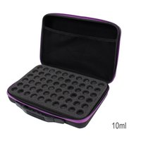 60 Compartments Essential Oil Storage Bag Portable Travel Es...