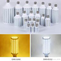 Süper Parlak Mısır Işıklar 15W 25W 30W 40W 50W 60W 80W Avize Led Işıklar Ampüller E27 B22 E40 Led SMD 5730 360 Açı AC 110-240V