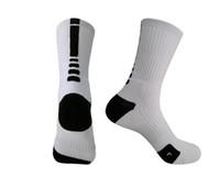 Alta qualità Quick Dry Usa Uomo e Donna Sport Basketbll Calzino Bianco Nero Rosso Giallo Calzini per atleta