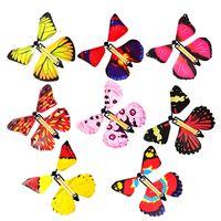 Neuer magischer Schmetterling, der Schmetterlingswechsel mit leeren Händen fliegt