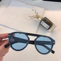 Top Quality 254 Lunettes de soleil pour femmes hommes lunettes de soleil style de mode protège les yeux UV400 lentille avec étui