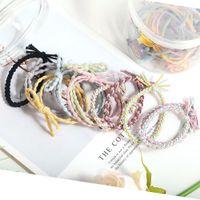熱い販売韓国風かわいいウサギの真珠の魅力の髪のロープ