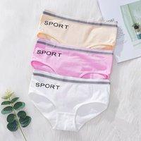 8pc / refresca suave ropa interior de algodón Traer de las muchachas, de la comodidad respirable Experiencia Panty 10-14Y