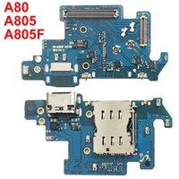 Pour Samsung Galaxy A80 A805 A805F SM-A805F Port de chargement de chargement USB Connecteur de dock USB Câble Flex