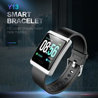 Banda di frequenza cardiaca Smartband Supporta Hang up Phone Call Bracciale sportivo impermeabile Wristband Y13