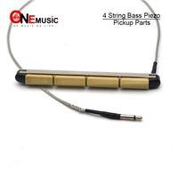 Pastilla de Transductor de Sillín Importada Barras Piezo Eléctricas Folk Acústicas Populares para 4 Cuerdas Partes de Guitarra Acústica Bajo