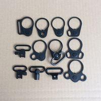 AR-15 Doppelschleifen-Riemenhalterung Adapter-Endplatten-Riemenhalterung für serienmäßigen QD-Riemenwirbel mit Pufferrohr