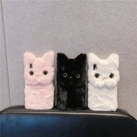 Cute cat phone case for 11 pro max cartoon XR   7   8plus pl...