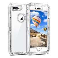 Clear Defender Case For iPhone X Max Xr Xs I Phone 8 7 6 Plu...