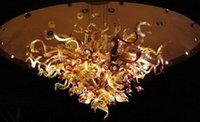 100% soplado mano de cristal de Murano Dale Chihuly arte lámpara de cristal cristal de la bóveda de Iluminación en Casa Decor