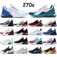 2020 실행 신발 사실 사육 270S 먼지 선인장 트리플 블랙, 화이트 라임 폭발 빛 뼈 핫 펀치 스포츠 운동화 트레이너 수