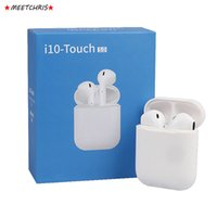 Bluetooth Headphones i10 Touch TWS Earbuds Wireless Earphone...