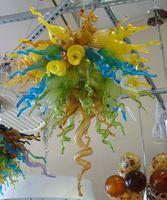 Современные хрустальные люстры Свадебные Столешница Centerpieces Dale Праздник Гостиная Рука выдувное стекло подвеска лампа