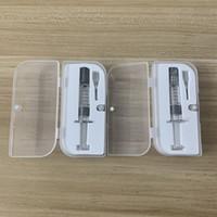 Vape Oil collection 1.0 ml инжектор шприц одноразовый распылитель стеклянный шприц инжектор прозрачный цвет с иглами использование для Co2 Толстого масла