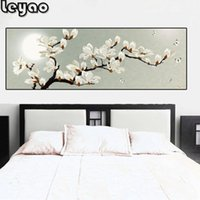 large diamond painting Magnolia Flower 5 diy diamond embroidery full round drill floral mosaic inlaid pattern,home decor