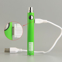 Authentische UGO V II V2 900mAh Ego 510 Batterie 8 Farben Micro USB Charge Passthrough Vape Batterien 100% Oringinal für 510 Ölpatronen
