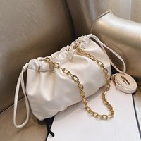 Chain Design Clouds Shape Bags For Women 2020 Fashion Crossb...