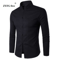 Men' s Shirt Chinese Tradition Style 2017 New Arrival Ma...