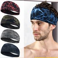스포츠 머리띠 남성 여성 남여 땀 땀이 신축성 운동 두건 Headscarf 요가 머리띠 머리 랩 땀이 5 색 ZZA1056