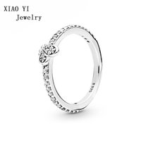 XIAOYI 100% 925 Sterling Silver New 2019 Spring 197948CZ Bed...