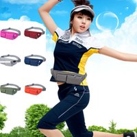 (A448X) Outdoor Belt Pockets Multi- function Running Anti- the...