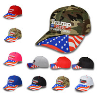 hot Donald Trump Baseball Hat Camouflage Keep America Great ...