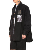 Raf 19ss Simons Portrait Black White Large Mens Designer Den...